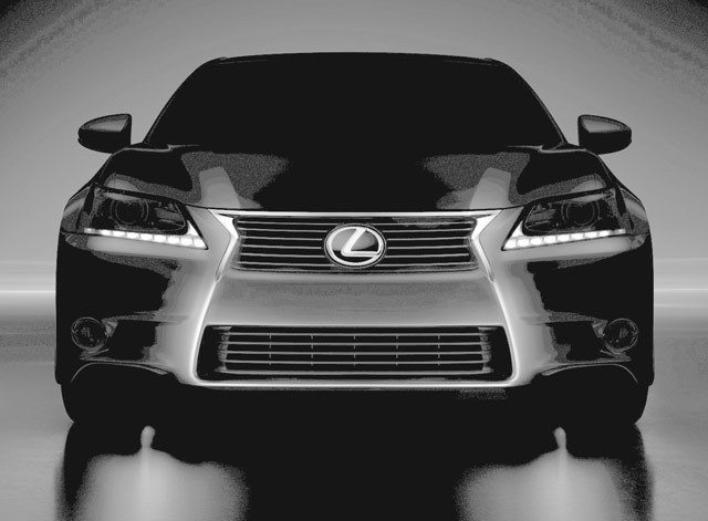 2013 Lexus GS 350 Image Correction