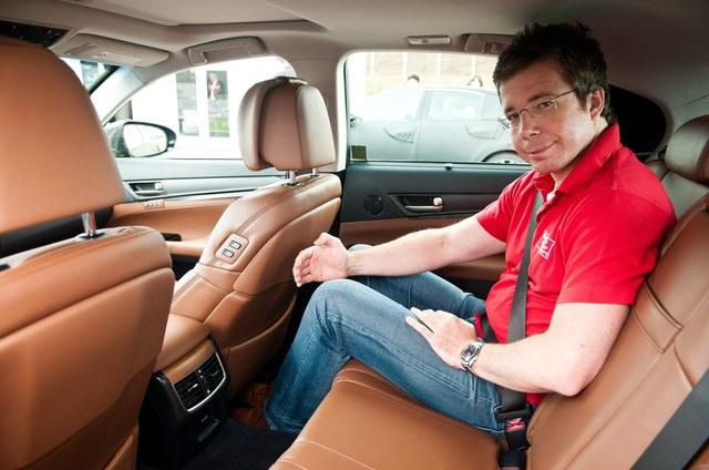 2013 Lexus GS Rear Seat Room