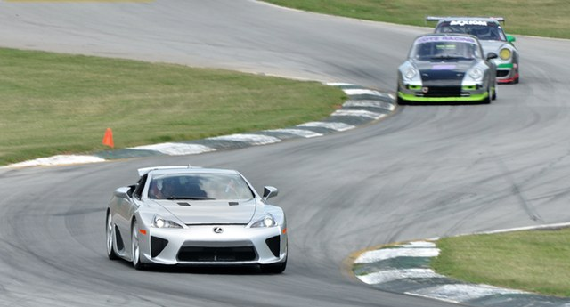 Lexus LFA on Road Atlanta