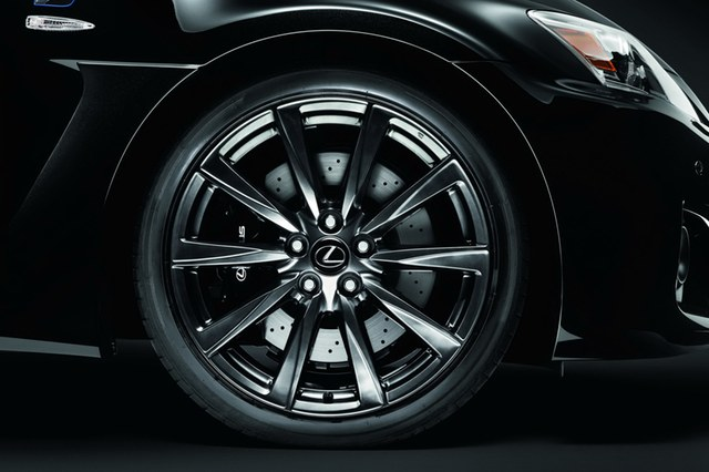 2012 Lexus IS F 10 Spoke Wheels