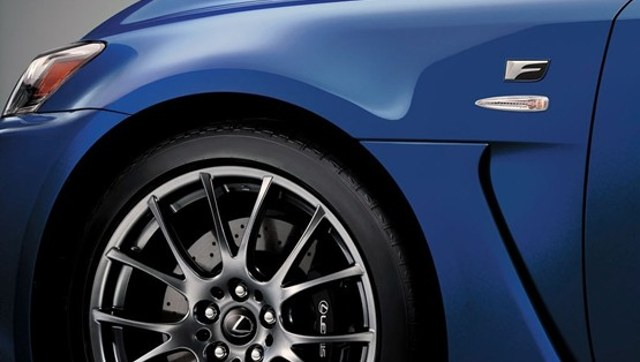2012 Lexus IS F Wheel Design 2