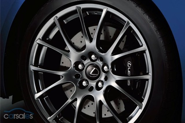 2012 Lexus IS F Wheel Design 1