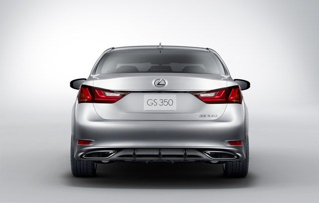 2013 Lexus GS Rear