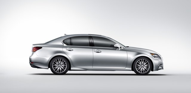 2013 Lexus GS 350 Side Profile