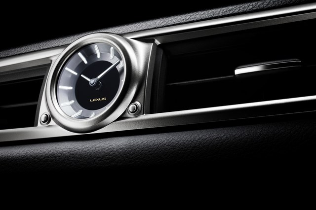 2013 Lexus GS Analog Clock