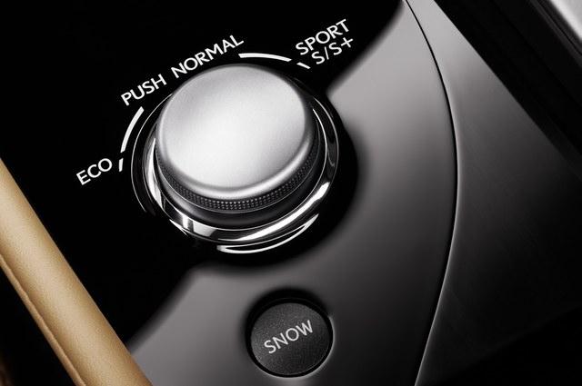 2013 Lexus GS Control Dial