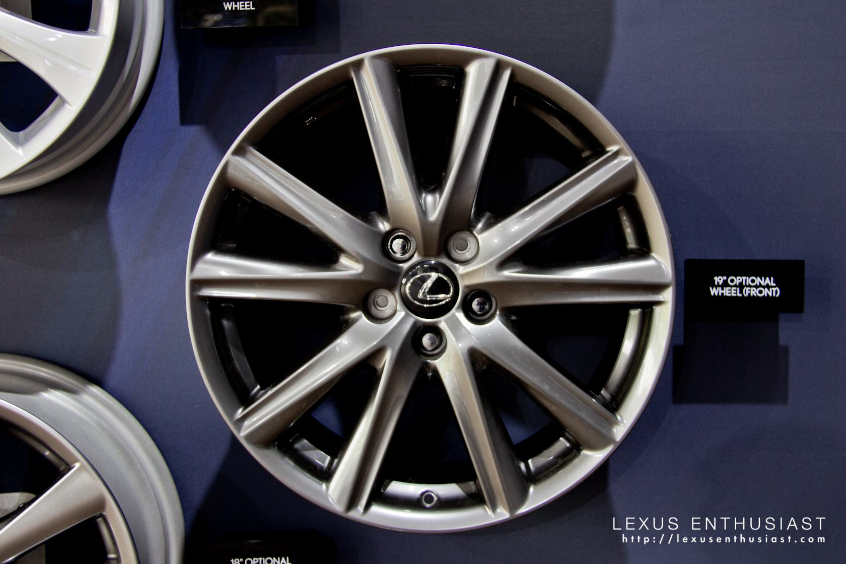 2013 Lexus GS 19 Inch Optional Wheel