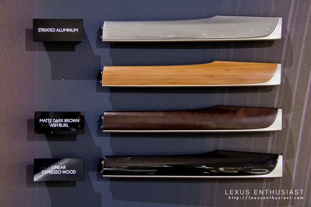 2013 Lexus GS Trim Options