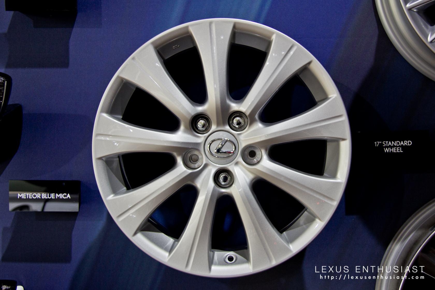 2013 Lexus GS 17 Inch Standard Wheel