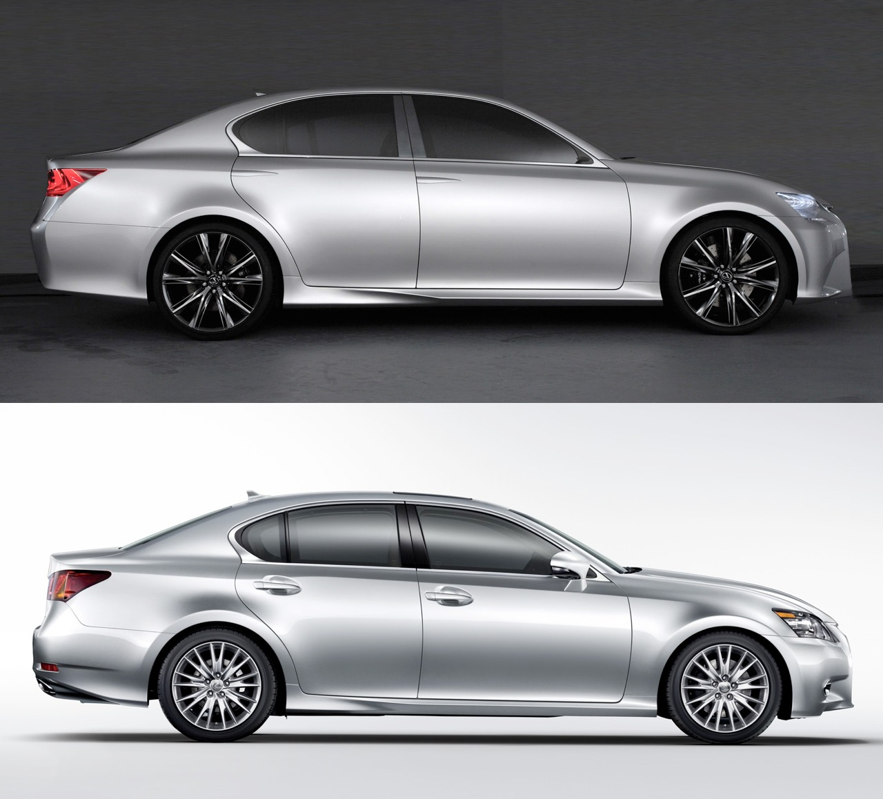 Beautiful 2013 Lexus GS Vs LF Gh Concept