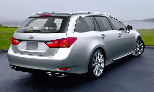 Fourth Generation Lexus GS Wagon Rear