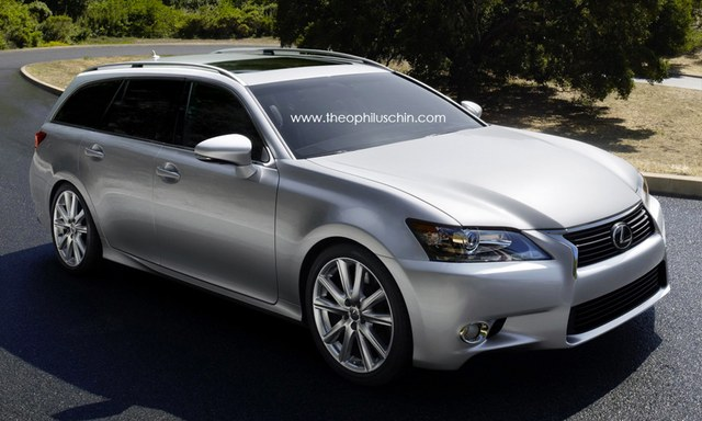 Fourth Generation Lexus GS Wagon Front
