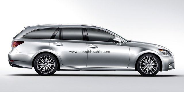 Fourth Generation Lexus GS Wagon Side