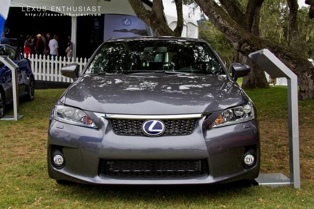 2012 Lexus CT 200h F-Sport Front