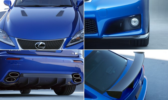 TRD Lexus IS F Exterior Aero Parts