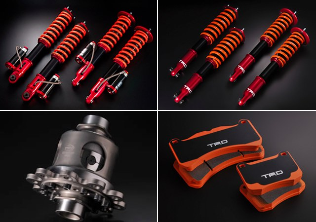TRD Lexus IS F Performance Parts