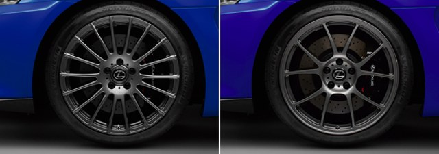 TRD Lexus IS F Wheels
