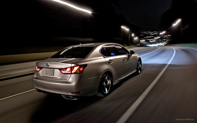 2013 Lexus GS 350 Wallpaper: Rear
