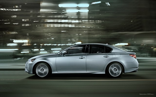 2013 Lexus GS 350 Wallpaper: Side