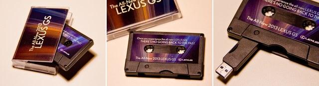 2013 Lexus GS Cassette Tape USB