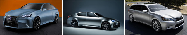 Lexus GS-F, GS Coupe, GS-F Coupe or GS SportCross