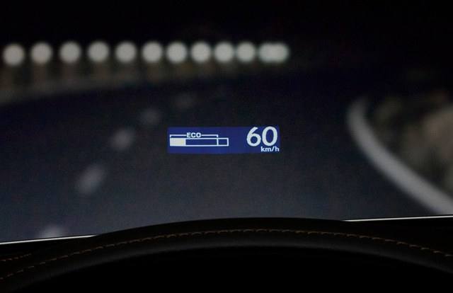 2013 Lexus GS 450h Heads Up Display