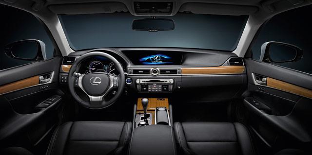 2013 Lexus GS 450h Interior