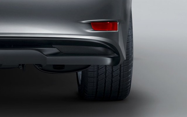 2013 Lexus GS 450h Exhaust Rear