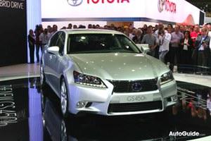 2013 Lexus GS 450h Live Shots
