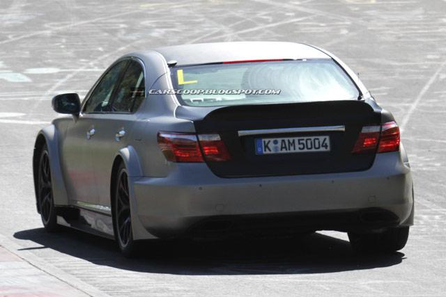 Mystery Lexus LS Rear