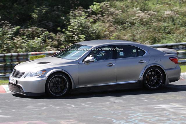 Mystery Lexus LS Side
