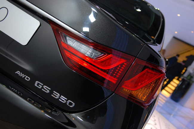 Starlight Black Lexus GS 350 AWD