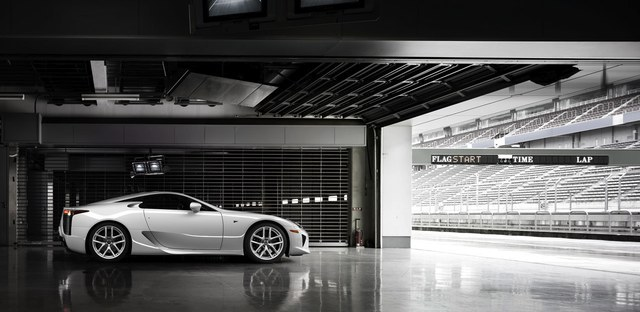 Lexus LFA Driver Development Program