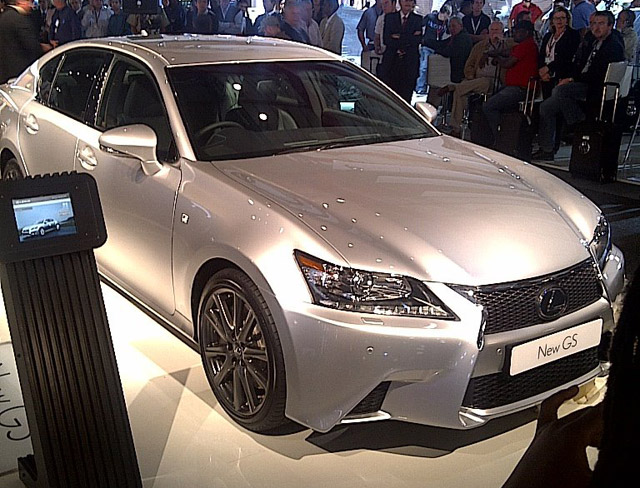 Lexus GS F-Sport Revealed
