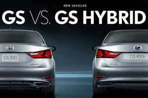 Lexus GS 350 vs. GS 450h