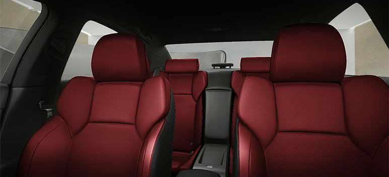 2012 Lexus IS-F Red Leather Seats