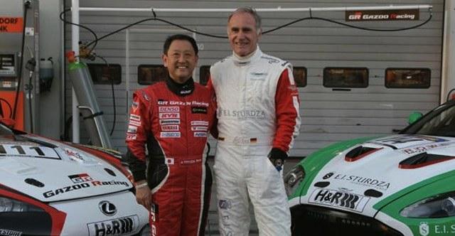 President Akio Toyoda & Aston Martin CEO Dr. Ulrich Bez