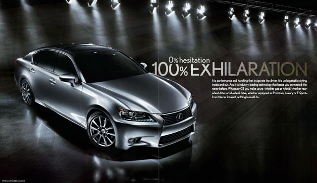 2013 Lexus GS 350 Brochure