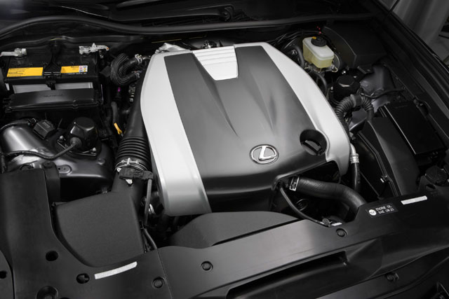 2013 Lexus GS F Sport Engine