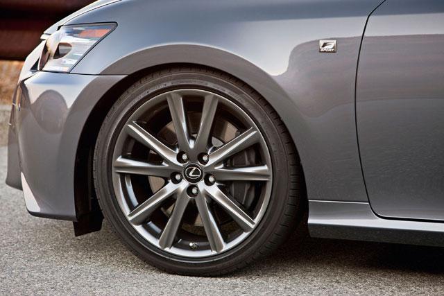Lexus GS F Sport Front Brakes