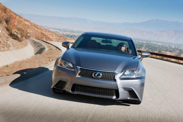 Lexus GS F Sport Front View