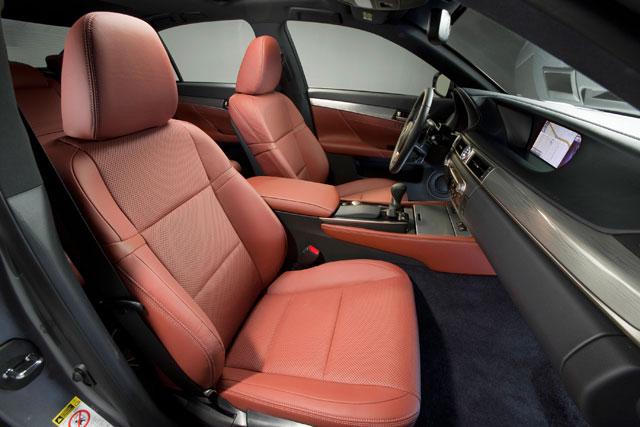 Lexus GS F Sport Front Seats