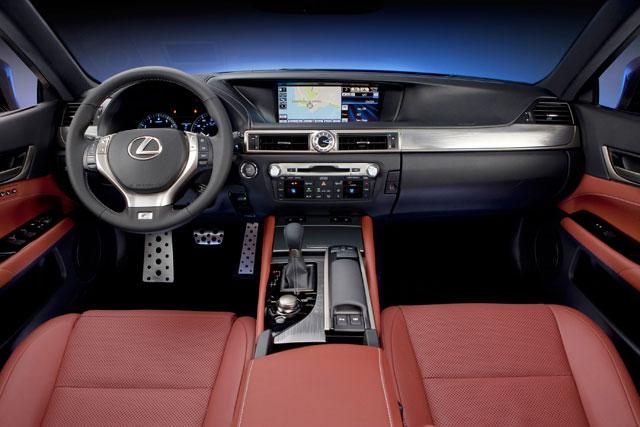 Lexus GS 350 F Sport Interior