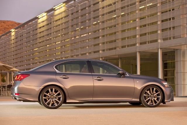 Lexus GS F Sport Side Profile