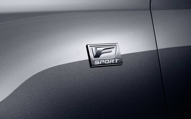 Lexus GS 450h F Sport Badge Wallpaper