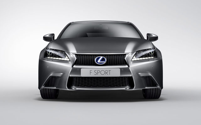 Lexus GS 450h F Sport Front Wallpaper