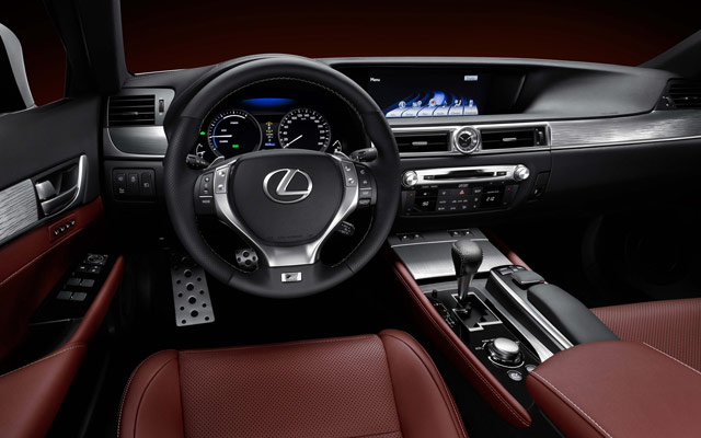 Lexus GS 450h F Sport Interior Wallpaper
