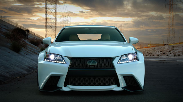 Lexus GS F Sport by Five Axis