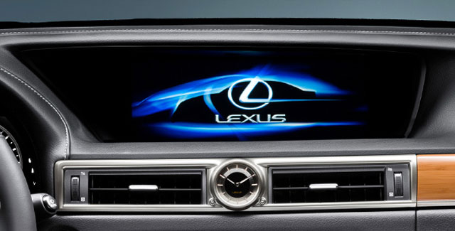 Lexus GS Remote Touch System