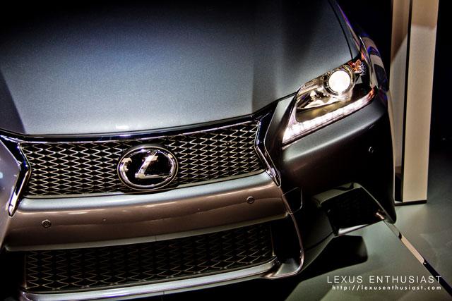 Lexus GS F Sport at SEMA